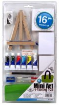 Kreatív hobby - Akvarell mini festőállványos készlet - Royal
