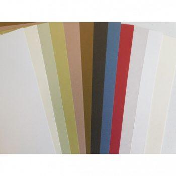 Növényi rostos karton, 220 gr A4, 1 lap - Többféle színben választható Real Natural kartonpapír, újr
