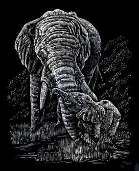 Kreatív hobby - Elefánt