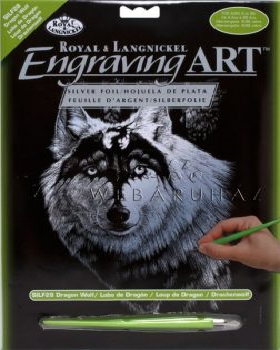 Kreatív hobby - Képkarcoló, farkas