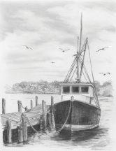 Kreatív hobby - Halászhajó