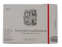 Vázlattömb - SMLT Sketch authenticbook - Bristol, 185gr, 18 lapos, 17,6x24,5cm