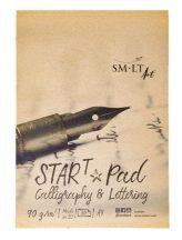 Kalligráfia tömb - SMLT Start Pad, Calligraphia & Lettering, 90gr 30 lapos A5