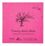 Mini skicc album - SMLT Drawing sketch album 120gr, 48 lapos, 14x14cm