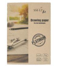 SMLT Platinum Bristol Rajztömb 190g A4 20 lapos