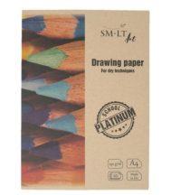 SMLT Platinum Rajztömb mappában 150g A4 20 lapos