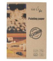 SMLT Festőívek mappában, Platinum - 250g A4 20 lapos