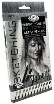 Kreatív hobby - Hobby művész - Grafikus ceruza készlet