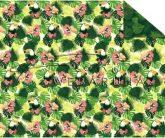 Kartonpapír - Trópusi hangulat, tukán madár mintás Karton, 300g, 1 lap