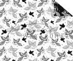 Madarak és madár tollak, Színezhető mintás karton, 29,5x20cm