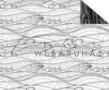 A tenger hullámai, Színezhető mintás karton