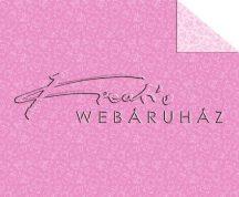 Kartonpapír - Babaváró, rózsaszín, mackó mintás karton, 1 lap