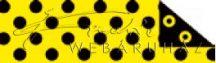 Kartonpapír - Sárga-fekete pöttyös és koncentrikus körös Hypnotikus karton, 29,5x20cm, 1 lap