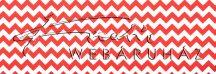 Kartonpapír - Piros, Chevron cikk-cakk mintás karton 29,5x20cm, 1 lap
