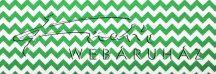 Kartonpapír - Zöld, Chevron cikk-cakk mintás karton 29,5x20cm, 1 lap