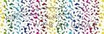 Kartonpapír - Szivárvány rizottó mintás Karton