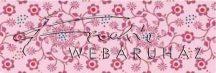 Kartonpapír - Apró rózsaszín virág mintás karton, 1 lap