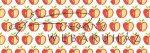 Kartonpapír - Apró mintás karton, Almák