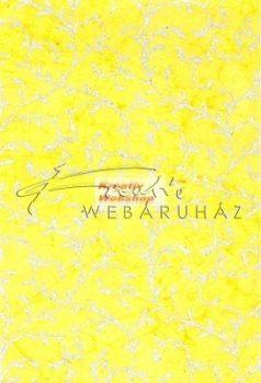 Batikolt papír, Ezüst színű inda mintával - Különböző alap színekben