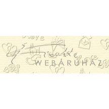 Kartonpapír - Esküvői elegáns krém színű kartonpapír, 220 gr. A4 - 1 lap