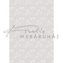 Kartonpapír - Esküvői Starlight mintás fehér és ezüst design karton, A4 - 5 lap