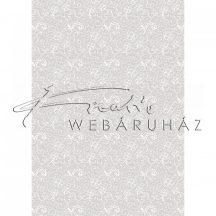 Kartonpapír - Esküvői Starlight mintás fehér és ezüst design karton, A4 - 1 lap