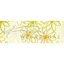 Dekorpapír - India style Hena 02 motívum, kézzel készített  papír, zöld-sárga