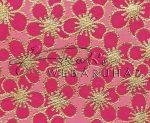 Dekorpapír - India style Rashmika 04 motívum, kézzel készített Natúr papír, Rózsaszín-arany