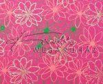 Dekorpapír - India style Rashmika 05 motívum, kézzel készített Natúr papír, Zöld, barackszín