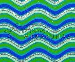 Dekorpapír - India style Garja 04 motívum, kézzel készített  papír, zöldes, kékes