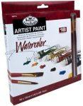 Kreatív hobby - Akvarellfesték készlet  18 - Royal - 2 ecsettel