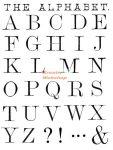 Kreatív hobby - Akrilnyomda készlet - Pecsételő készlet - Nyomtatott nagybetűk