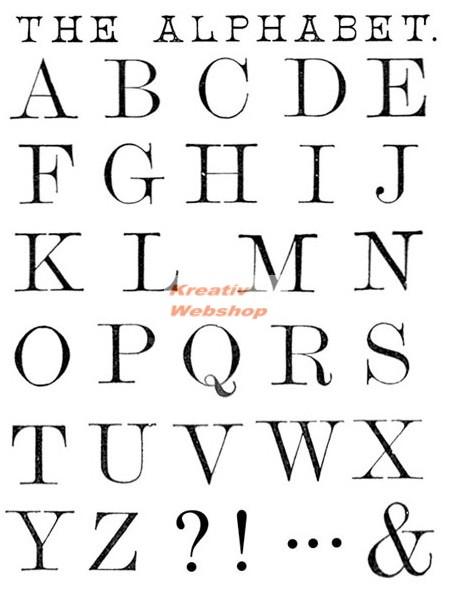 782d42c4d2 Kreatív hobby - Akrilnyomda készlet - Pecsételő készlet - Nyomtatott  nagybetűk