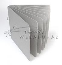 Album - Szürkekarton scrapbook album - 20,3 x 20,3 cm