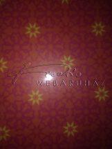Transzparens papír - Arab mintás, pink színű