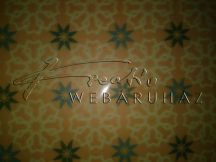 Transzparens papír - Arab mintás, sárga színű
