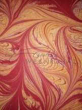 Kartonpapír - piros, art