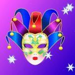 Farsang - Farsangi arcfestés, maszkok, farsangi díszítés