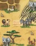 Állat mintás kartonpapír