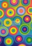Geometrikus mintás transzparens papír