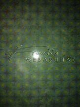 Türkiz csillagos transzparens papír