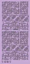 Kék Rózsaszín Virágos sarok, Peel-Off
