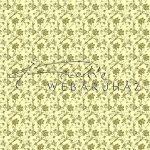 Kreatív hobby - Design Papír - Arany virágos - cream színű gyöngyház fényű papír 120gr
