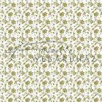 Kreatív hobby - Design Papír - Arany virágos - fehér színű, gyöngyház fényű papír 120gr