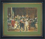 Kreatív hobby - Rembrandt - Éjjeli őrjárat