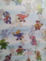 Transzparens papír - Hógolyózó Gyerekek