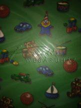 Transzparens papír - Játékszerek mintás