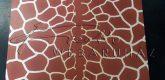 Kartonpapír - Zsiráf mintás - 10 lap