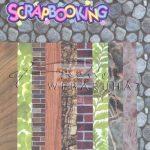 Kreatív hobby - Albumpapír - Természetes Textúrák