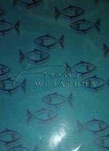 Kreatív hobby - Transzparens papír - Halak, kék